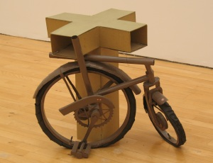Bicycle sculpture - SMAK