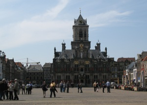 The Delft town square