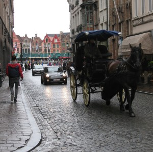 Horse and carriage - Brugge