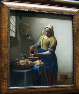 Vermeer's The Milkmaod - Rijksmuseum, Amsterdam