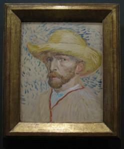Van Gogh self portrait - Van Gogh Museum, Amsterdam