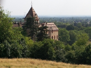 Interesting European Architecture - view from the top of Richmond Hill