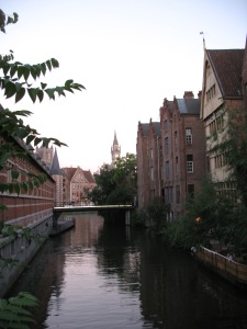 A charming canal view in Gent