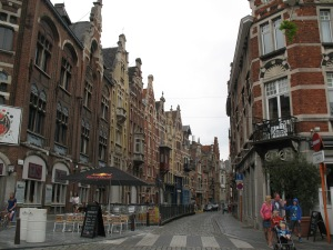 The charming architecture of Gent