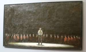 Painting from the Prime Time exhibition