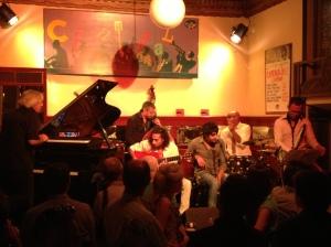 The Flamenco Jazz Company - Cafe Central - Madrid, Sept 2013