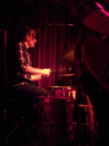 Young drummer for the Joe Nemeth band