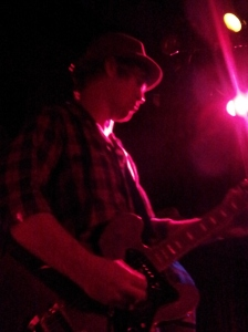 The very talented lead guitarist for the Joe Nemeth band