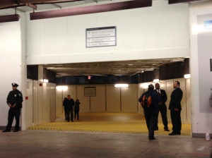 Tunnel entrance from the PATH Train at World Trade to the World Financial Center