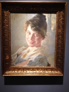 PS Kroyer - Portrait of the Artists Wife Marie