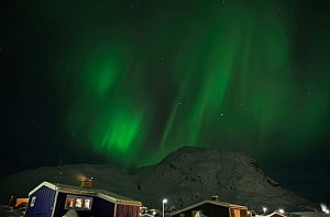 Northern Lights over Greenland