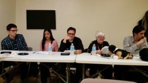 L - R: Ramon Olmos Torres, Jessica Zinder, Lou Martini, Barbara Ann Davison, and Kristoffer Infante