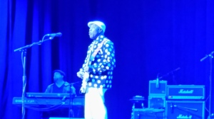 Buddy Guy on stage at the Wellmont Theater in Montclair, NJ. 6-6-2014