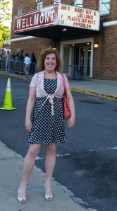 That's me, yes, in POLKA DOTS, excited to see Buddy Guy live for the first time!