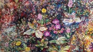Icelandic floral detail 2