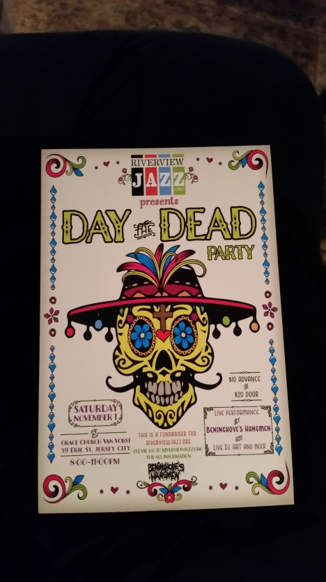 Day of the Dead Jazz Concert flyer