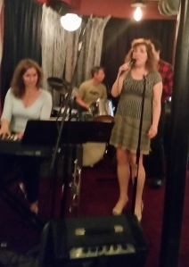 Last night, I went out to sing jazz...