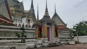 The architecture of Wat Pho